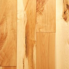 "5.12"" Solid Character Maple Strand Woven Clear-Tec Printed Bamboo Flooring"