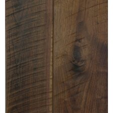 "Old Growth 5-1/8"" Solid Bamboo Hardwood Flooring in Antique Black Walnut"