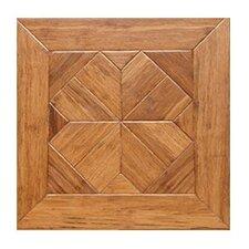 "Venetian Parquet Engineered 15.75"" x 15.75"" Bamboo Wood Tile"