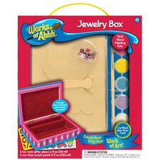 Works of Ahhh Butterfly Jewelry Box Painting Set