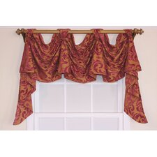 "Metropole Chenille Victory Swag 54"" Curtain Valance"