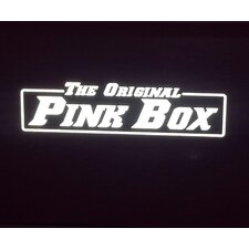 The Original Pink Box Reflective Wall Mural (Set of 2)