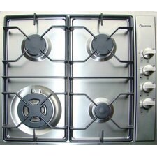 "22.75"" Gas Cooktop with 4 Burners"