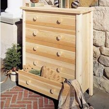 Cedar 5 Drawer Dresser