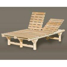 Cedar Double Chaise Lounge