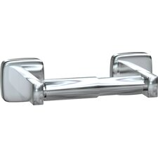 Single Surface Mounted Toilet Tissue Holder in Stainless Steel