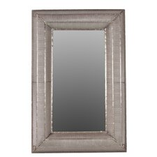 Metal Rectangular Wall Mirror
