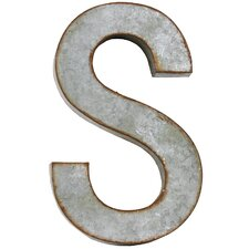 "Alphabet Letter ""S"" Wall Decor"