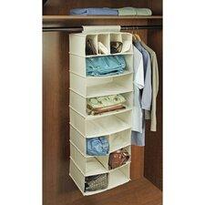 Natural Canvas Storage 14 Pocket Handbag Organizer