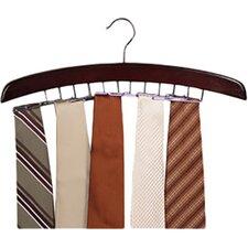 Closet Accessories 24 Tie Hardwood Hanger