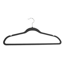 Celessence Crisp Linen Soft Grip Anti-Slip Suit Hanger (Set of 8)