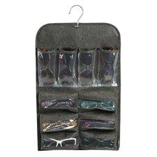 20 Compartment Eyeglass Hanging Organizer