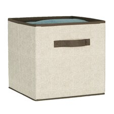 Celessence Crisp Linen Pop Up Storage Bin Cube