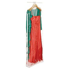Clear Vinyl Storage Gown Garment Cover