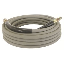 4000 PSI 50-Foot Non Marking Rubber Pressure Washer Hose