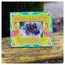 Beach Favorite Things Picture Frame