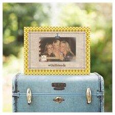 Girlfriends Linen Clip Picture Frame
