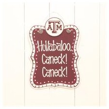 Texas A and M Chalkboard Wall Decor