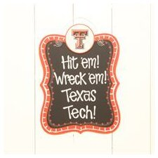 Texas Tech Chalkboard Wall Decor