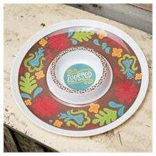 Blessed Melamine Chip and Dip Platter