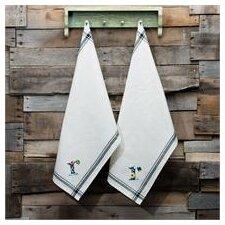 R Initial Tea Towel