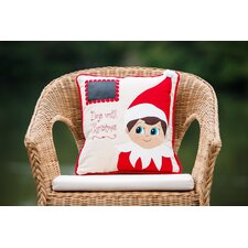 Elf Days Til Christmas Pillow