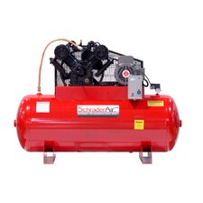 120 Gallon Professional Series 2 Stage 7.5 HP Single Phase Horizontal Air Compressor