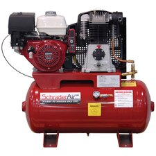 11 HP 30 Gallon Compressor For The Service Industry Gas Powered Air Compressor