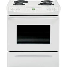 4.6 Cu. Ft. Electric Range in White