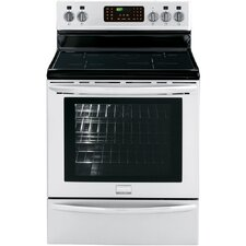 5.4 Cu. Ft. Convection Range in Stainless Steel