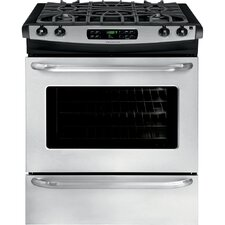 4.5 Cu. Ft. Gas Range in Stainless Steel