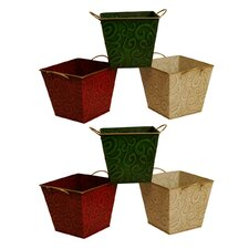 Square Pot Cover (Set of 6)