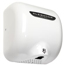 Thermoset (BMC) XLERATOR Automatic Surface Mounted 208 Volt Hand Dryer in White