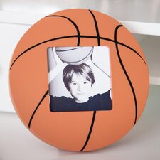 Wooden Basketball Picture Frame