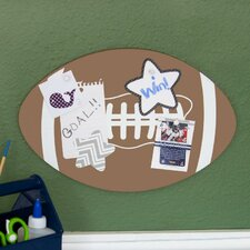 Soft Wood Football Corkboard