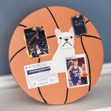 Soft Wood Basketball Corkboard Picture Frame