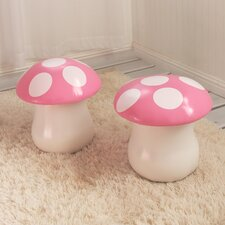 Kids Mushroom Chair (Set of 2)