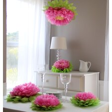Paper Flower Pom (Set of 7)