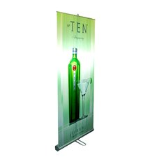 """35"""" - 70"""" Vertical Adjustable Double-Sided Banner Stand"""