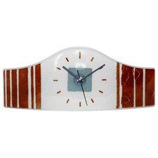 Wall or Mantel Watch Shaped Glass Clock