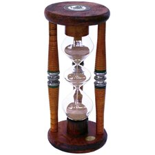Three Tier 5 Minute Sand Timer Hourglass