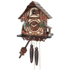 One Day Cottage Cuckoo Wall Clock