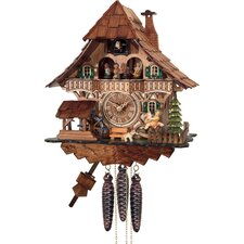 One Day Musical Forest Cuckoo Wall Clock