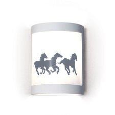 Silhouette Cheyenne 1 Light Wall Sconce