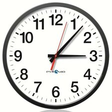 "13.25"" Wireless Analog Wall Clock"