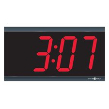"4"" 4 Digit Digital Stand Alone Wall Clock"