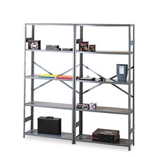 "Commercial 75"" H 5 Shelf Shelving Unit Starter"