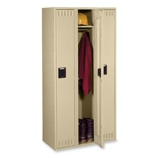 "Single-Tier Locker, 36""x18""x78"", Sand"