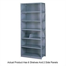 Q Line Closed 7 Shelf Shelving Unit Starter