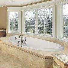 "Designer Carli 60"" x 36"" Whirlpool Bathtub with Combo System"